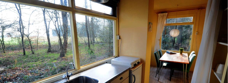 Keuken vakantiehuis de Brummel (Norg, Drenthe)