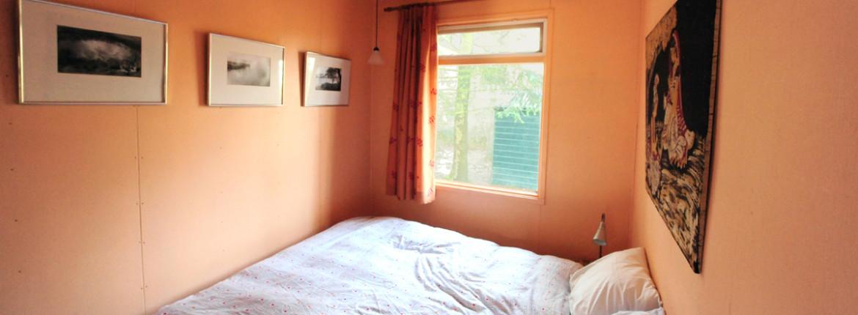 Slaapkamer vakantiehuis de Brummel (Norg, Drenthe)